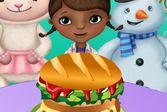 Доктор Плюшева: Королевский Гамбургер