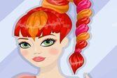 Рыжая причёска