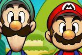 Марио и Луиджи в хрустальном королевстве