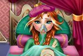 Анна заболела