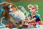Анна спасает питомца