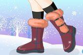 Мои зимние сапоги