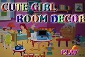 Комната симпатичной девочки