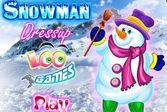 Снеговик - одевалки