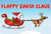 Свисающий Санта Клаус
