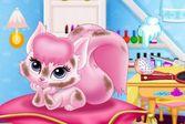 Ухаживаем за озорным котенком принцессы Авроры
