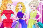 Принцессы Диснея отправляются на летнюю распродажу