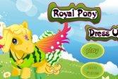 Королевский пони - одевалки