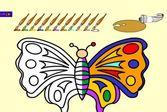 Рисовалка: рисуем Бабочку
