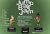 Прыжок за баскетбольным мячом