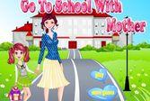 В школу с мамой