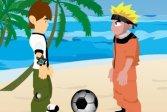 Пляжный мячик с Наруто и Беном Теннисом