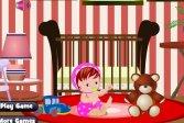 Обстановка комнаты младенца