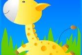 Пазлы – Жираф