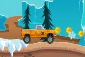 Экстремальный снежный грузовик
