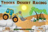 Гонка тракторов в пустыне