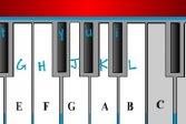 Пианино с Подсказками