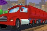 Парковка бензовоза