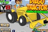 Диего на тракторе - чистка окружающей среды