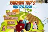 Фермер Тэд тракторист