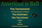 Американский бильярд с 9 шарами