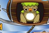 Помогите сове согреться