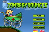 Гонки малыша-зомби