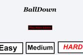 Мяч вниз
