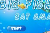 Большая рыба кушает маленькую