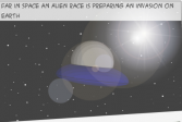 Инопланетная атака