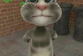 Кот Том Пьет Молоко