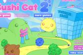 Играть Суши Кот 2 онлайн флеш игра для детей