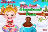 Играть Малышка Хейзел и пряничные домики онлайн флеш игра для детей