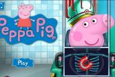 Играть Свинка Пеппа попала ко врачу онлайн флеш игра для детей