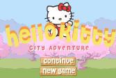 ИгратьПриключения Хелло Китти онлайн флеш игра для детей