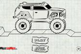 Играть Водитель внедорожника Макс онлайн флеш игра для детей