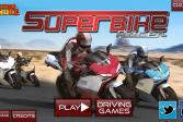 Играть Гонка с супермотоциклами онлайн флеш игра для детей