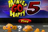 Играть Счастливая обезьянка 5 онлайн флеш игра для детей