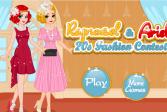 Играть Принцессы Диснея на конкурсе моды онлайн флеш игра для детей