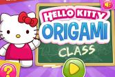 Играть Класс оригами - Хелло Китти онлайн флеш игра для детей