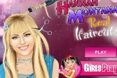 Играть Ханна Монтана и реальные стрижки онлайн флеш игра для детей