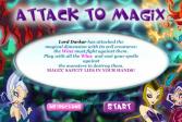 Играть Атака на Магикс онлайн флеш игра для детей