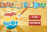 Играть Дизайнер пасхальных яиц онлайн флеш игра для детей