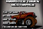 Играть Монстро-Джип - Разоритель онлайн флеш игра для детей