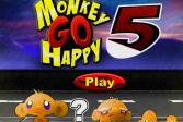 Играть Мини-игра Счастливая обезьянка 5 онлайн флеш игра для детей