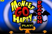 Играть Счастливая Обезьянка: Дракон Квест онлайн флеш игра для детей