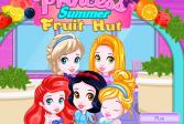Играть Рапунцель, Эльза, Золушка, Ариэль и Белоснежка онлайн флеш игра для детей