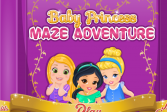 Играть Приключения в лабиринте: Рапунцель Запутанная История онлайн флеш игра для детей
