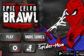 Играть Приключения человека-паука из мультфильма онлайн флеш игра для детей