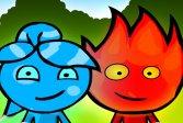 Огонь и Вода играть на двоих онлайн во весь экран
